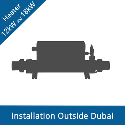 Intex Pool Heater Installation Service - Outside Dubai (12kW and 18kW)