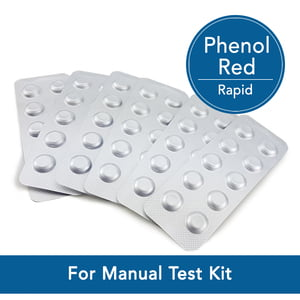 Reagent Phenol Red Rapid Manual pH Testing Tablets - 511792BT